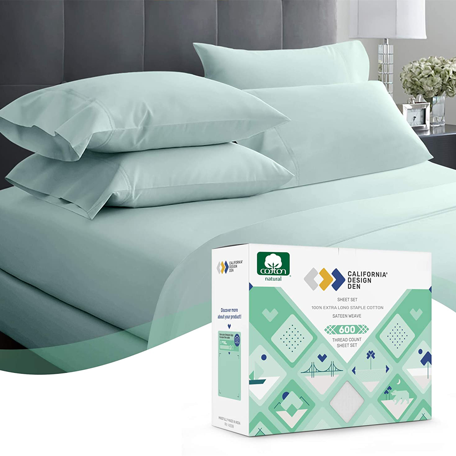 Thread-Count King Size Sheet Set