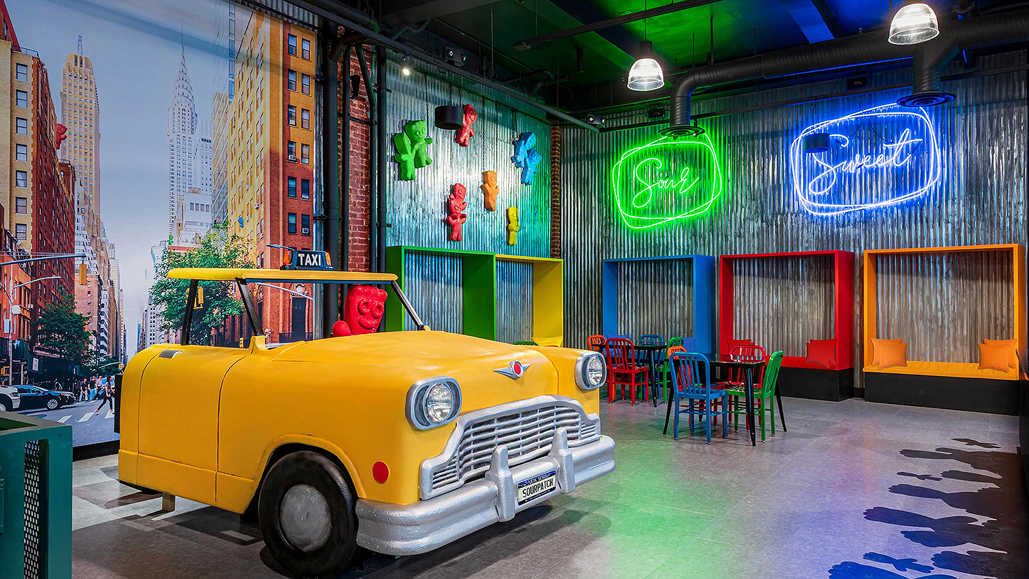Sour Patch Kids store interior