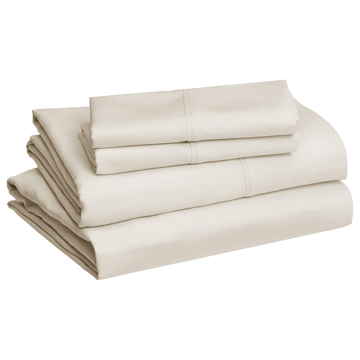 Amazon Basics Lightweight Super Soft Easy Care Microfiber Sheet Set