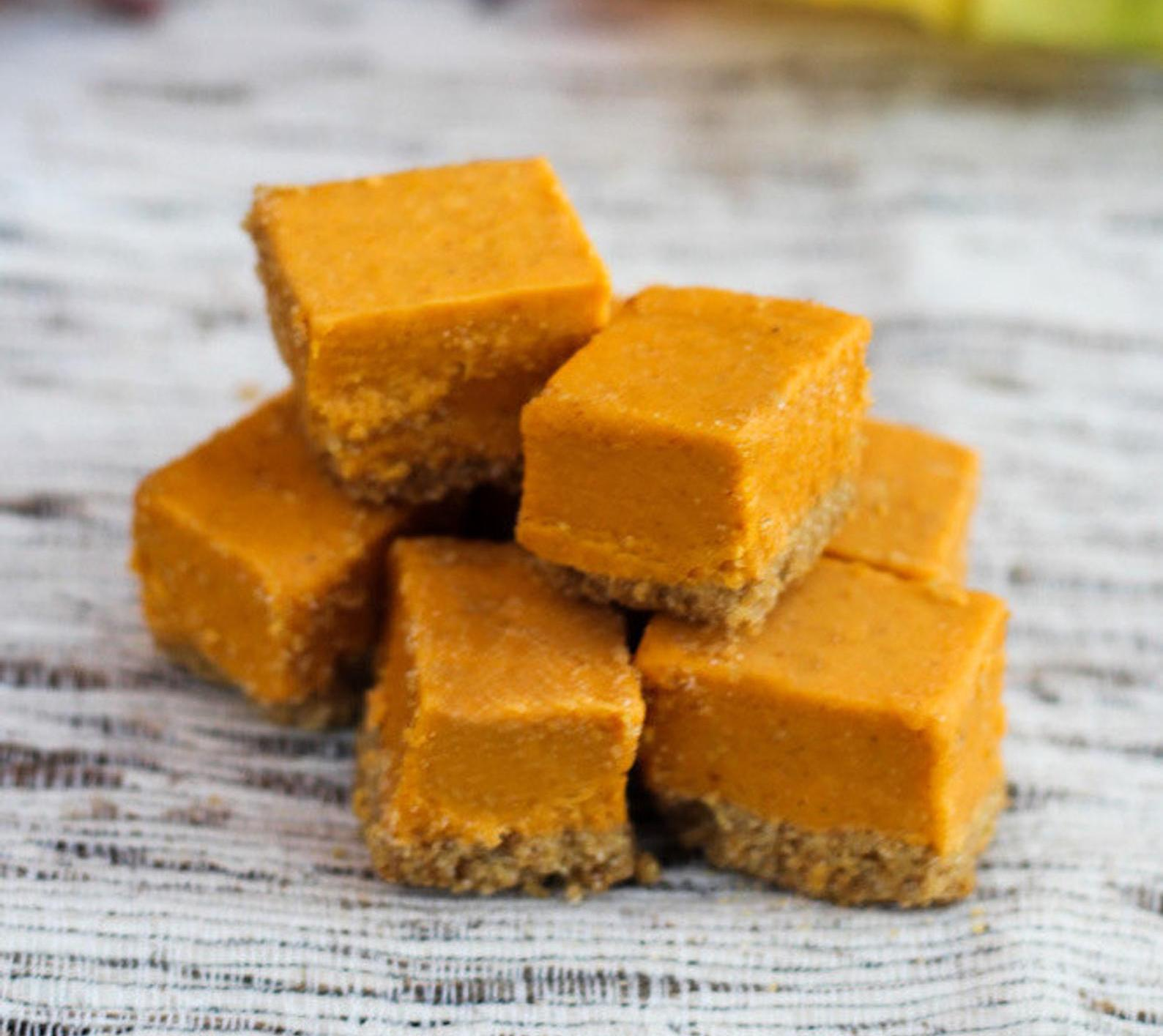 pumpkin pie fudge from whimsicalsweetery