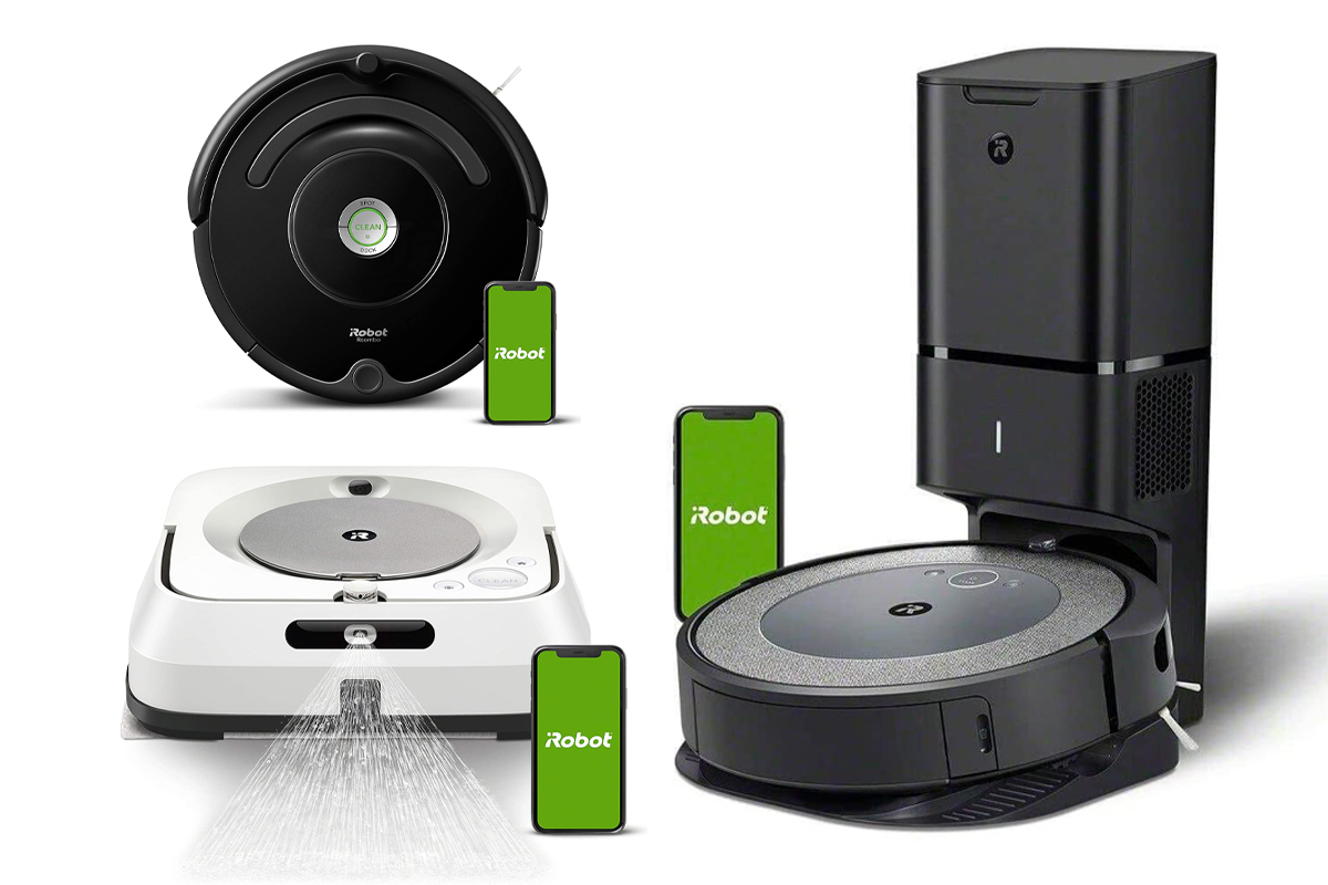 iRobot Wifi Connected Vacuums on Amazon