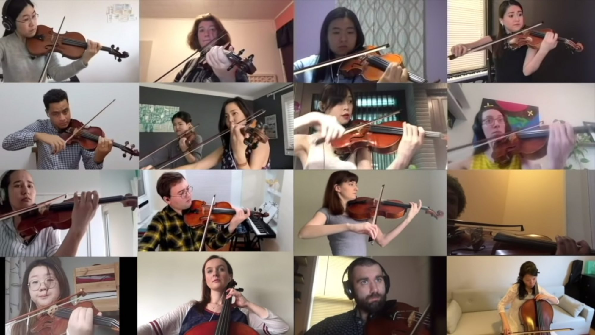"300 MUSICIANS FROM ACROSS THE WORLD PERFORM A VIRTUAL RENDITION OF ""YOU'LL NEVER WALK ALONE"""
