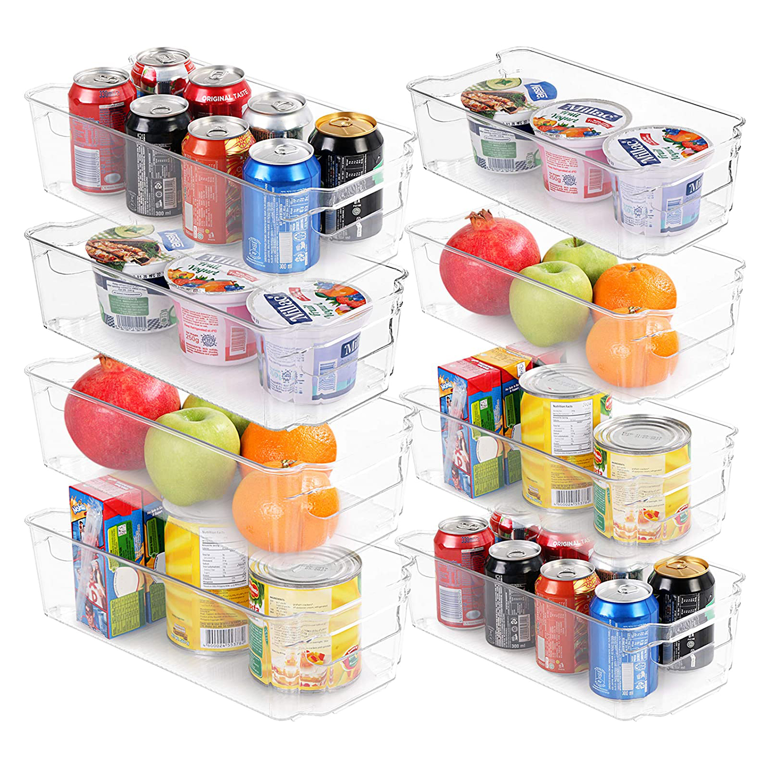 Set of 8 Pantry Organizers-Includes 8 Organizers