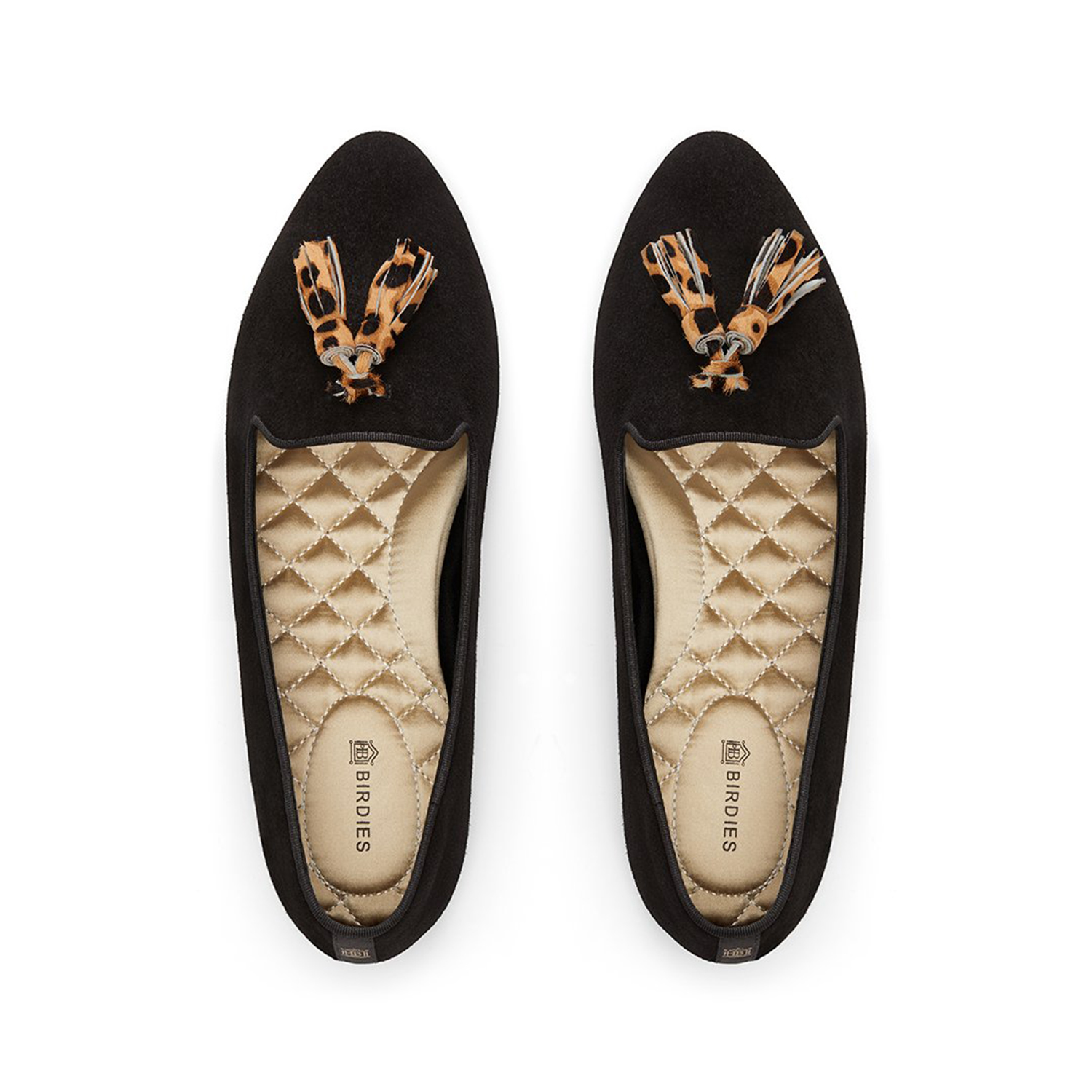 Birdies Calf Hair Flats