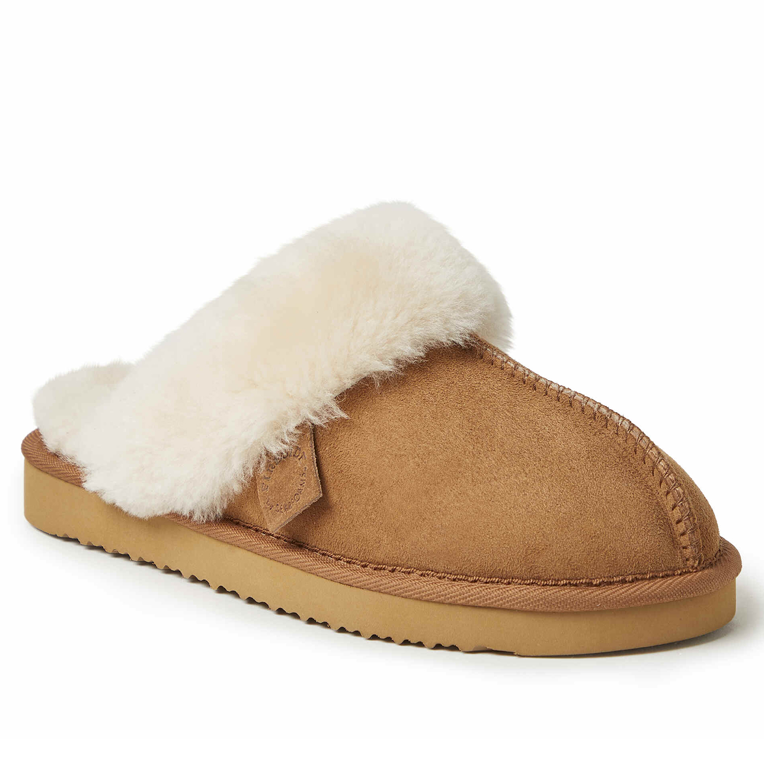 Sydney Water Resistant Genuine Shearling Scuff Slipper Dearfoams