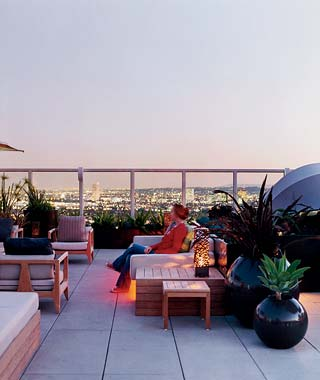 The Hottest Hotel Rooftop Bars: Los Angeles: Andaz West Hollywood