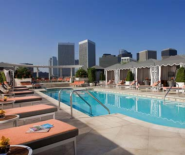 The Hottest Hotel Rooftop Bars: Los Angeles: Roof Garden at the Peninsula Beverly Hills