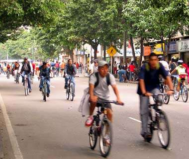 The World's Top Biking Cities: Bogotá
