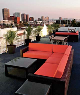 The Hottest Hotel Rooftop Bars: Phoenix: The Clarendon
