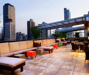 The Hottest Hotel Rooftop Bars: New York: The Empire Hotel Rooftop