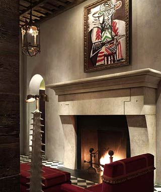 Best Hotel Art Collections: Gramercy Park Hotel, New York City