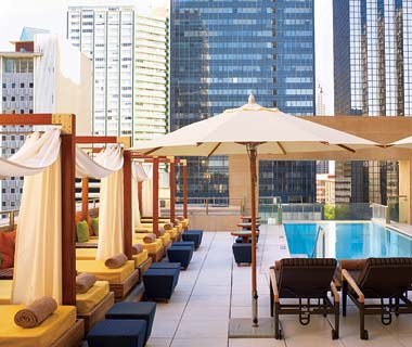 The Hottest Hotel Rooftop Bars: Dallas: The Joule