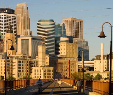 The World's Top Biking Cities: Minneapolis