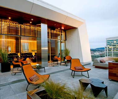 The Hottest Hotel Rooftop Bars: Portland, OR: Departure Restaurant and Lounge at the Nines Hotel