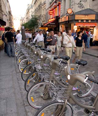 The World's Top Biking Cities: Paris