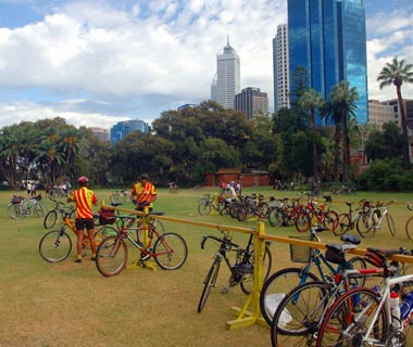 The World's Top Biking Cities: Perth