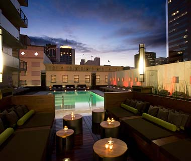 The Hottest Hotel Rooftop Bars: San Diego: Sìrèn at the Sè Hotel