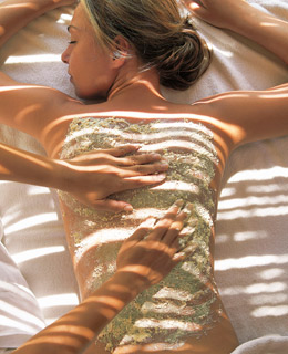 Most Exotic Spa Treatments: Gold Body Mask, Oman