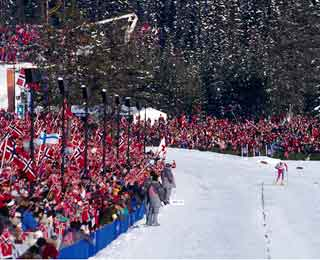 Do-It-Yourself Olympics: Birkebeineren Ski Stadium