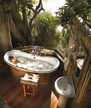 Most Over-the-Top Honeymoon Suites: Private Suite at Eagle Island Camp