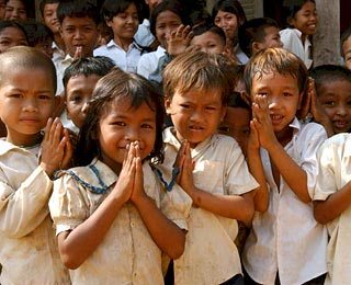 Great Humanitarian Trips Around the World: Touring and Community Service, Cambodia