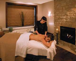 Most Exotic Spa Treatments: Cedar Massage, Wisconsin