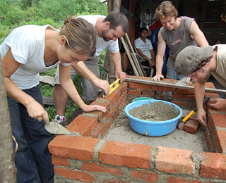 Great Humanitarian Trips Around the World: Stove-Building in Central America