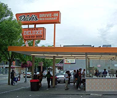 America's Best Retro Escapes: Dick's Drive-In Restaurant