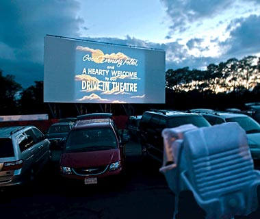 Wellfleet, MA: The Wellfleet Drive-In Theatre