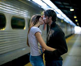 No Kissing at Train Stations, France and England
