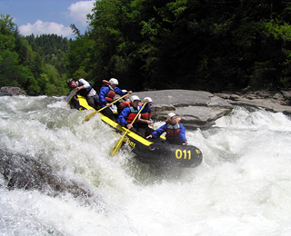 25 Great American Adventures: Georgia Rafting