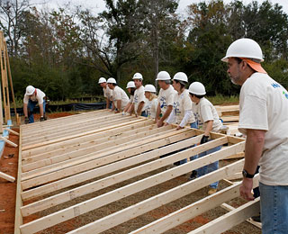 Great Humanitarian Trips Around the World: Post-Hurricane Home Building, U.S. Gulf Coast