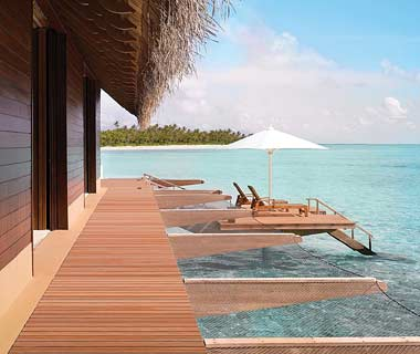Most Over-the-Top Honeymoon Suites: The Grand Water Villa