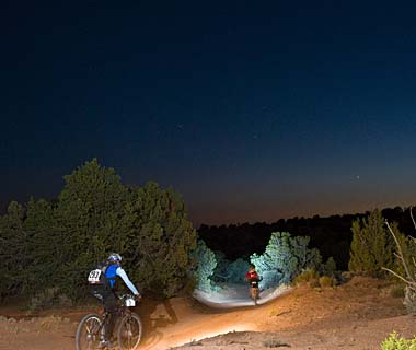 World's Top Nighttime Adventures: Go All-Night Mountain Biking