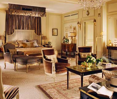 Most Over-the-Top Honeymoon Suites: Royal Suite at the Hôtel Plaza Athénée