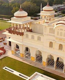 India's Most Romantic Places: Rambagh Palace Jaipur