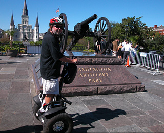 25 Great American Adventures: Louisiana On a Segway