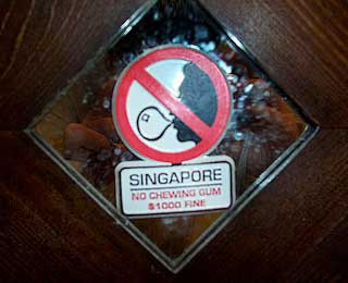 World's Strangest Laws: Chewing Gum, Singapore