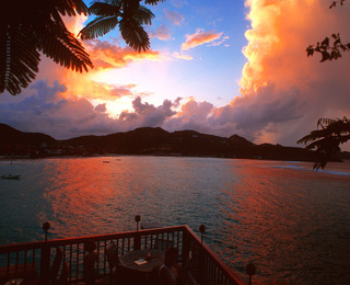 Most Romantic Caribbean Sunsets