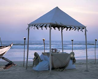 India's Most Romantic Places: Taj Exotica Goa