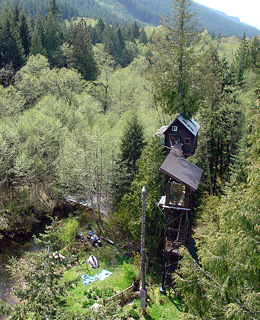 25 Great American Adventures: Washington Treehouse Hotel
