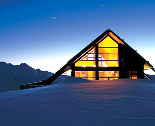 Best High-Altitude Hotels: Whare Kea Chalet