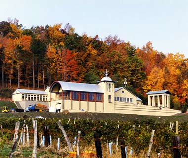 The World's Most Spectacular Tasting Rooms: Heron Hill Winery, New York