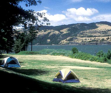 Memaloose Campground, Memaloose State Park, Oregon