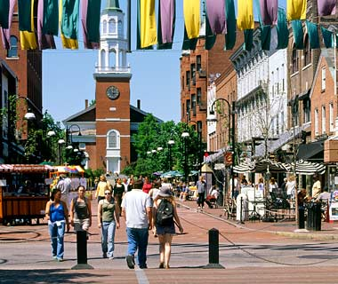 Church Street, Cherry Street, Burlington, Vermont
