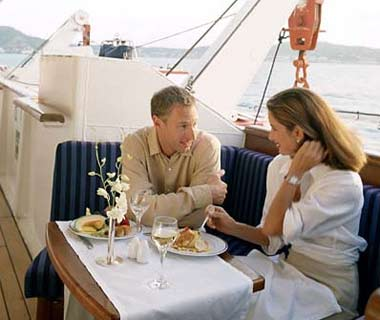 SeaDream Yacht Club: Best Private OutdoorDining