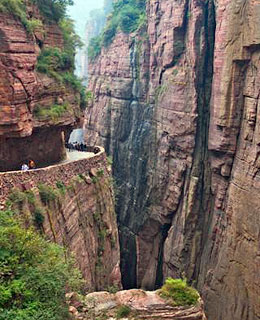 World's Scariest Roads: Guoliang Tunnel Road, China