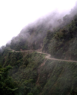 World's Scariest Roads: North Yungas Road, Bolivia
