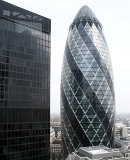 World's Coolest Buildings: 30 St. Mary Axe