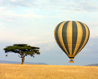 The World's Top 10 Aerial Tours: Serengeti Balloon Safari